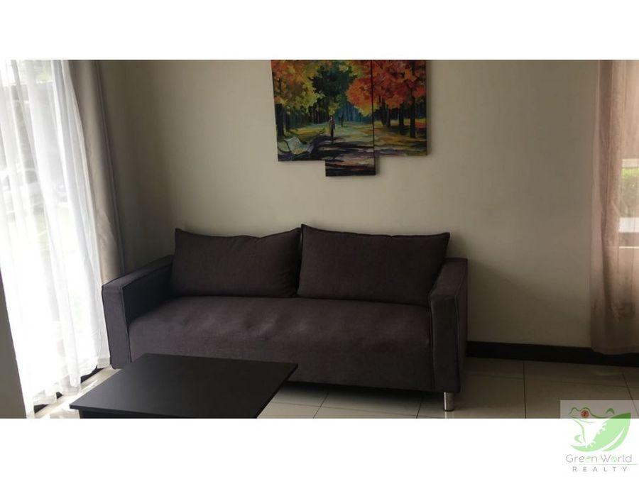apartamento amueblado en real cariari