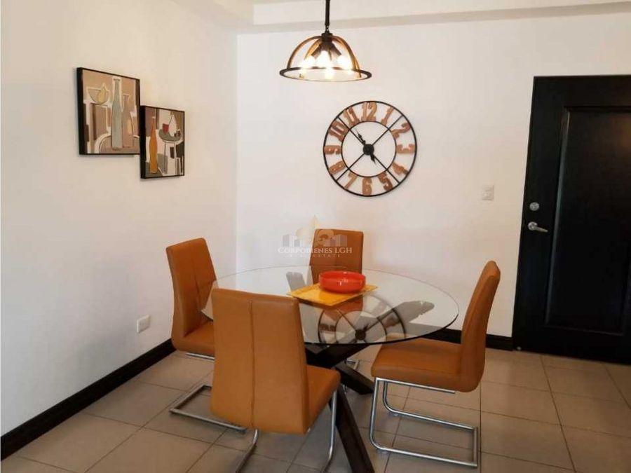 apartamento amueblado con gran estilo en belen heredia