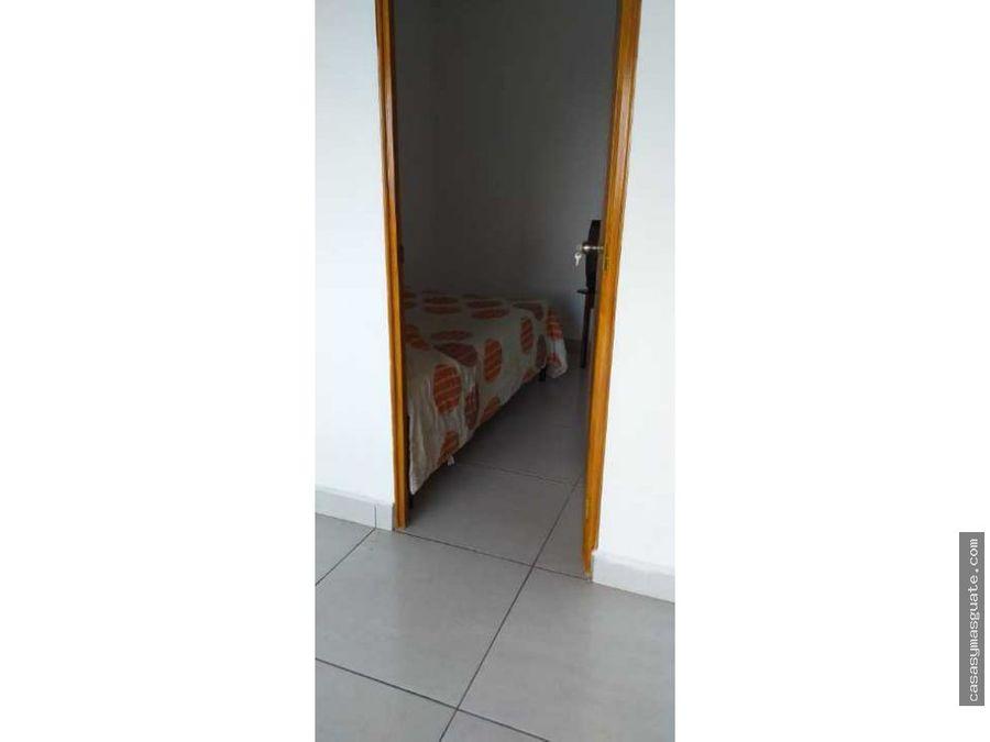 apartamento amueblado zona 10