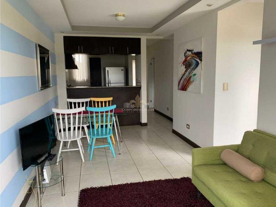 apartamento amueblado en belen cariari