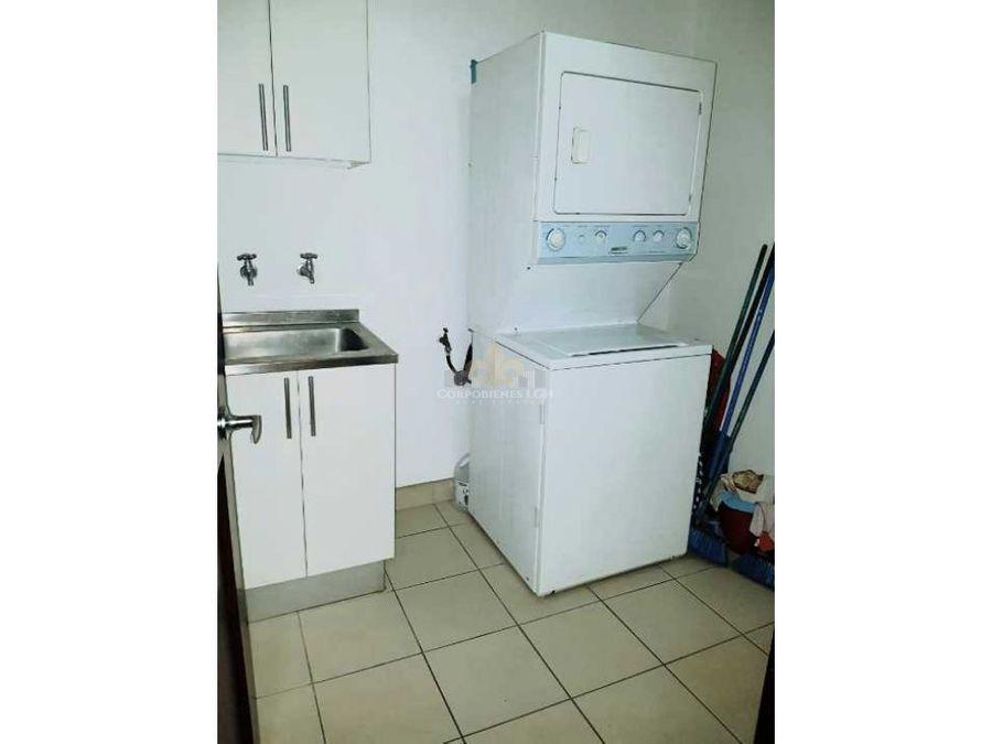apartamento amueblado en condominio con areas sociales