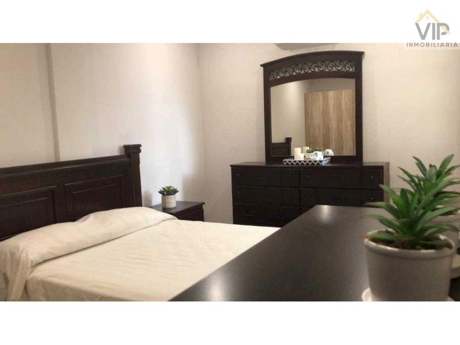 apartamento amueblado en renta res puerta del sol sps