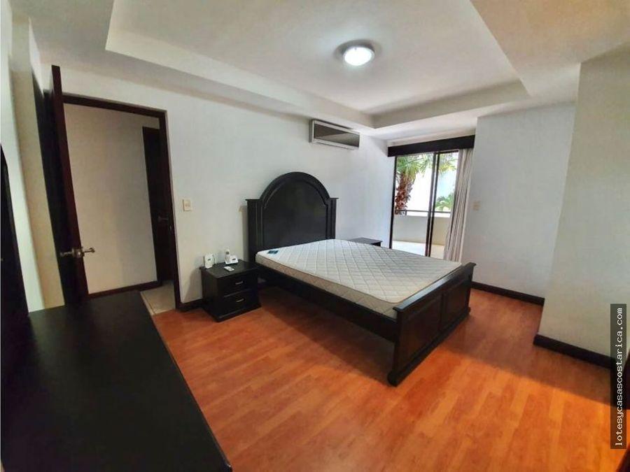apartamento amueblado para alquiler y venta santa ana