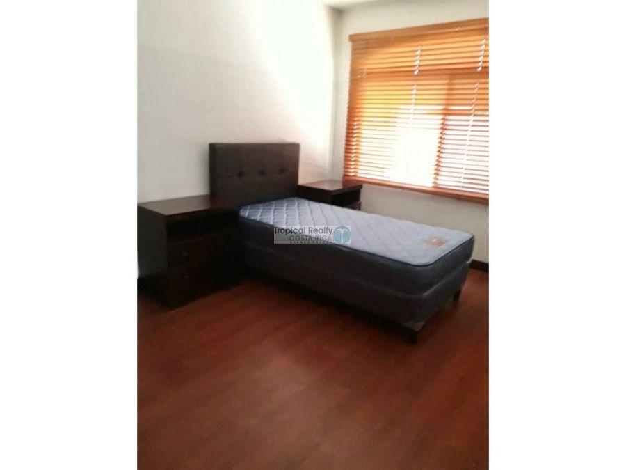 apartamento amueblado para alquiler en condominio
