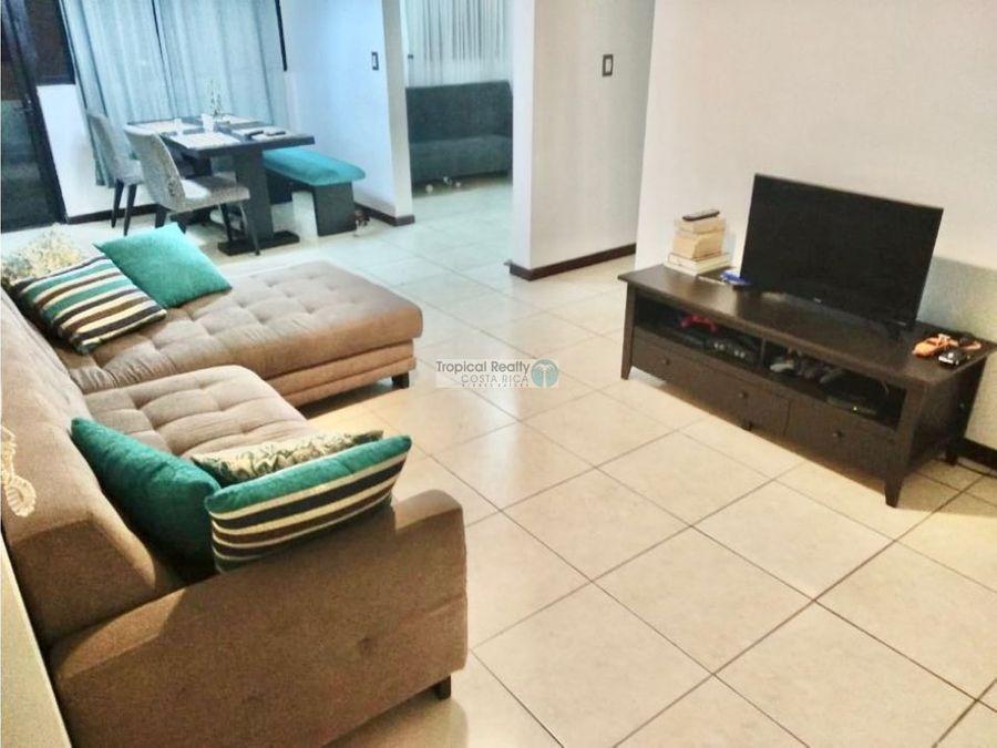 apartamento amueblado para alquiler en concasa condominio bosque real