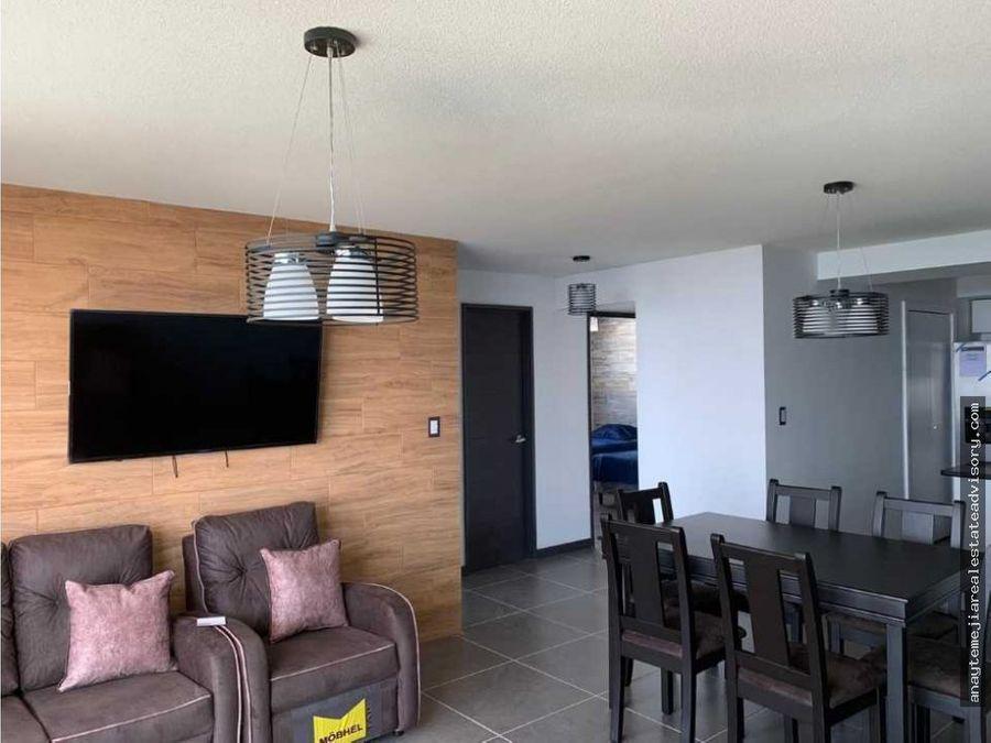 apartamento amueblado para estrenar en renta z16 edificio solverde