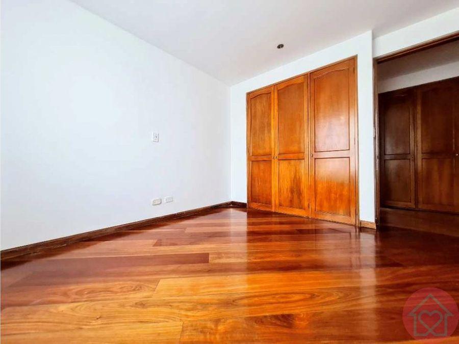 apartamento arriendo rincon del chico balcon bogota