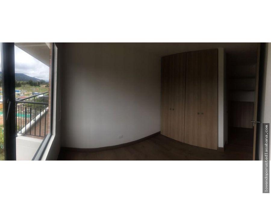 apartamento cajica espectacular