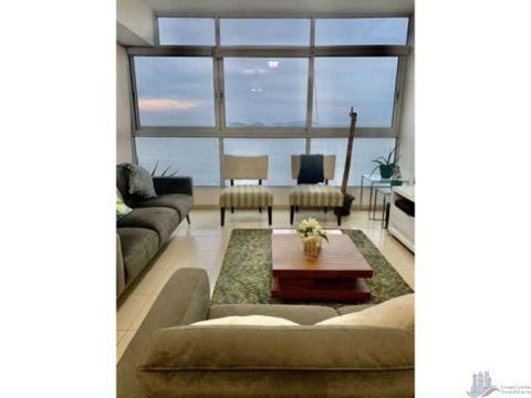 apartamento cinta costera 2 rec alquiler o venta amoblado