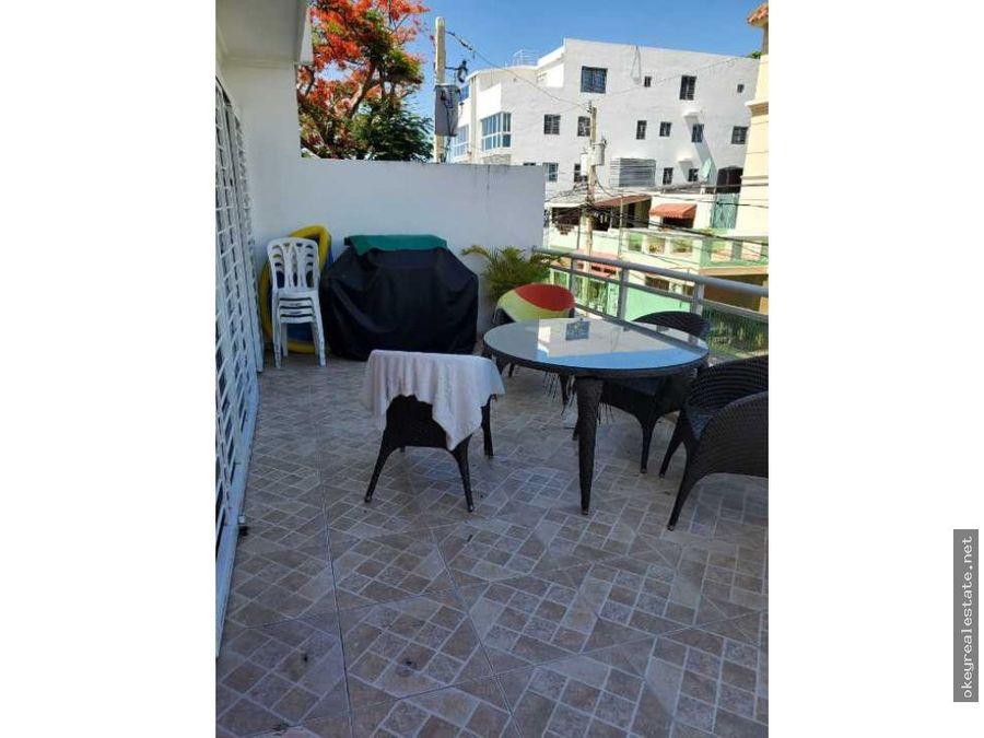 apartamento con terraza en la avenida independencia