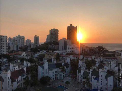 apartamento con vista al mar santa marta 001