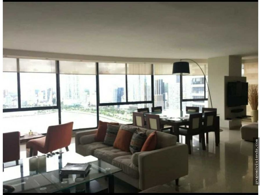 apartamento con espectacular vista en punta paitilla
