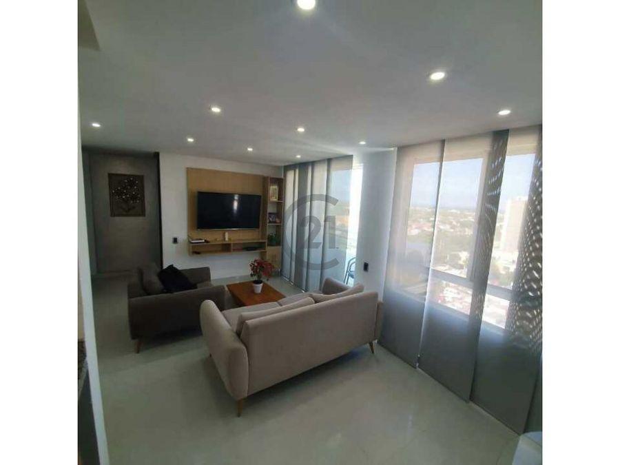 apartamento con hermosa vista en villacampestre