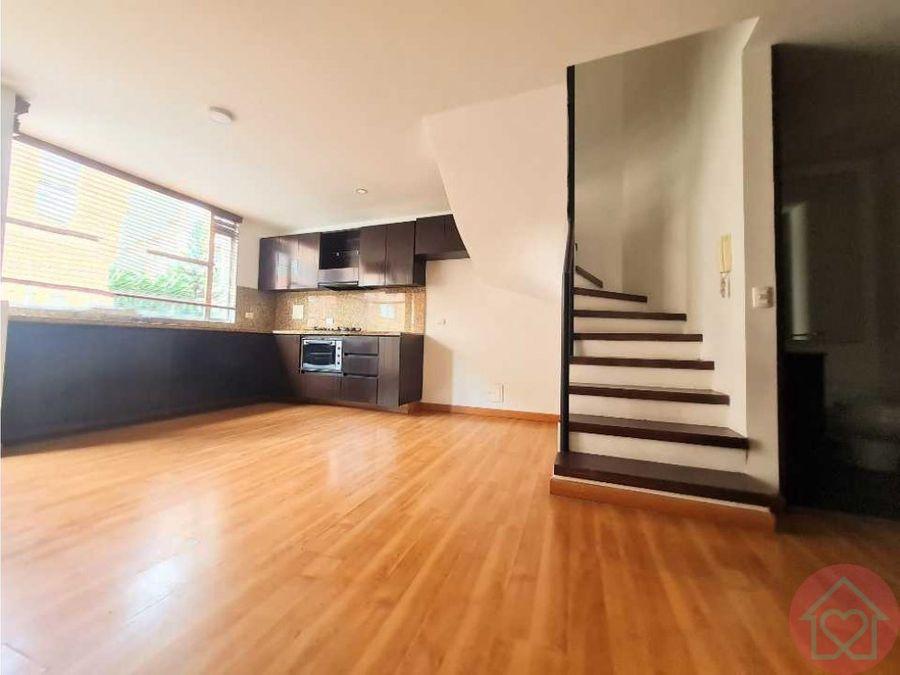 apartamento duplex venta santa barbara balcon bogota