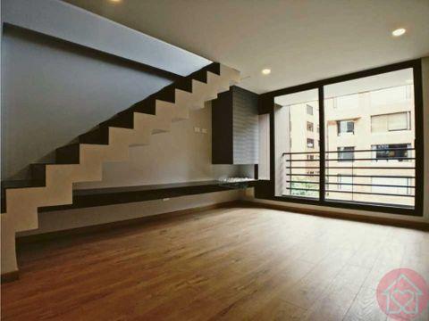 apartamento duplex en venta rosales con balcon
