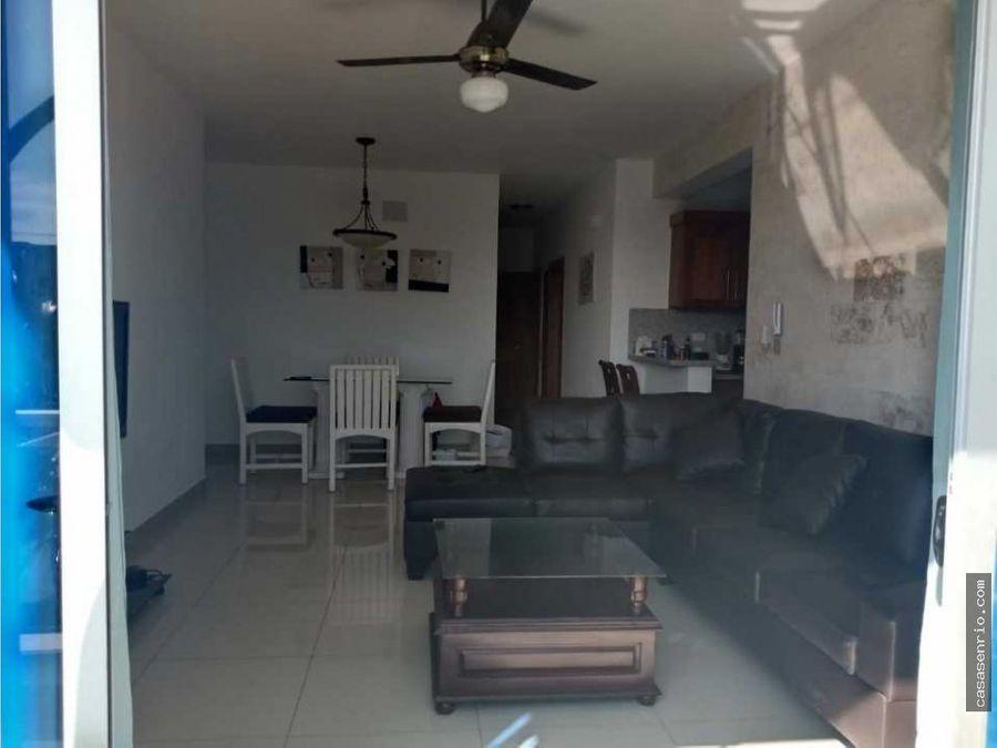 apartamento de alquiler en puerto plata de 3 habitaciones
