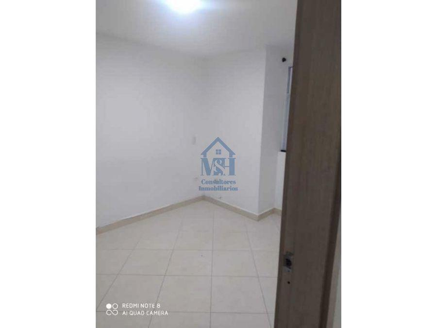 apartamento de cuarto piso en venta niquia parte baja bello antioquia