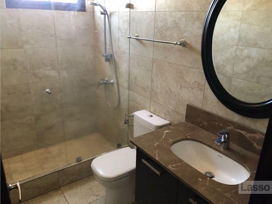 apartamento de dos dormitorios zona 14 renta