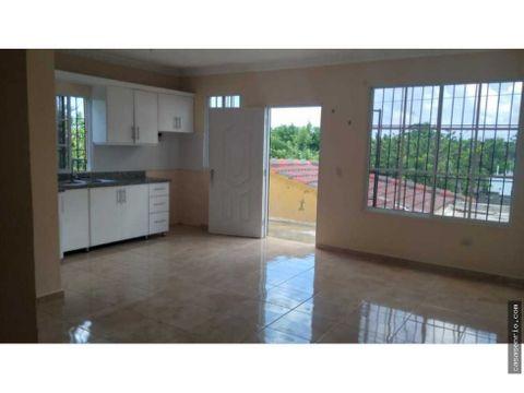 apartamento de dos habitaciones en renta rsj