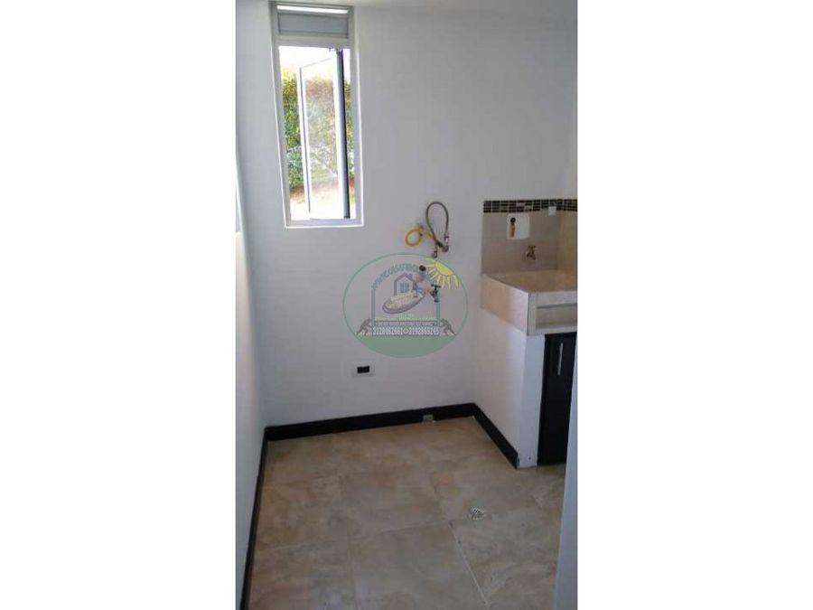 apartamento de sugundo piso en marinilla en la urbanizacion bariloche