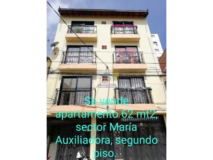 apartamento de segundo en marinilla en el barrio maria auxiliadora