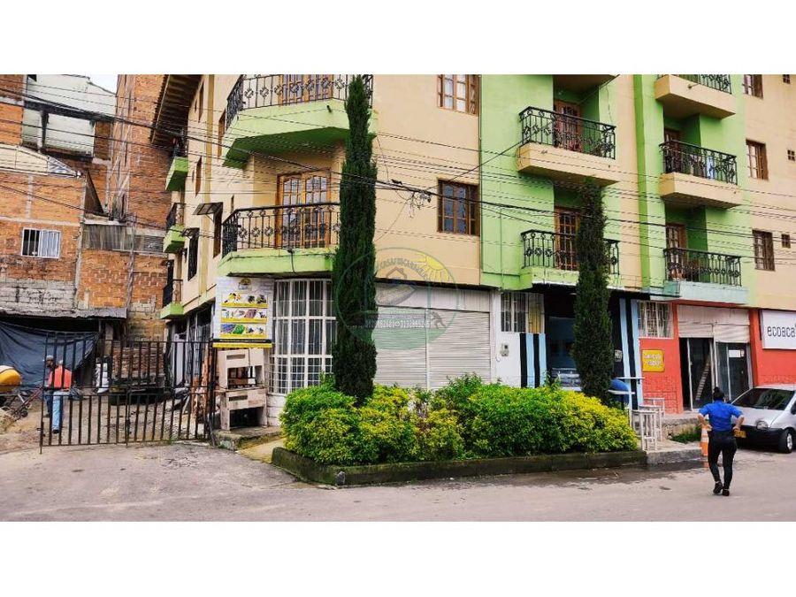 apartamento de segundo piso a 3 cuadras del parque detras de caribe