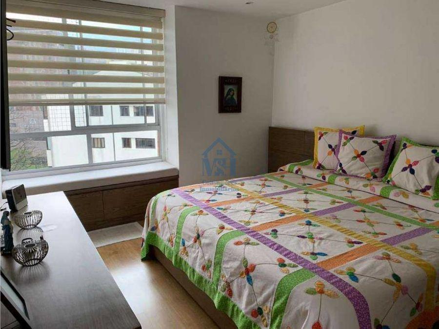 apartamento de 117 m2 en santa maria de los angeles poblado medellin
