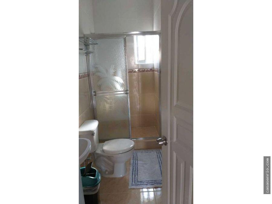 apartamento de 3 habitaciones en rio san juan