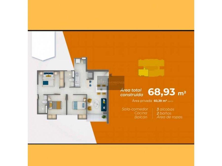 proyecto apartamento de 3 habitaciones norte de armenia