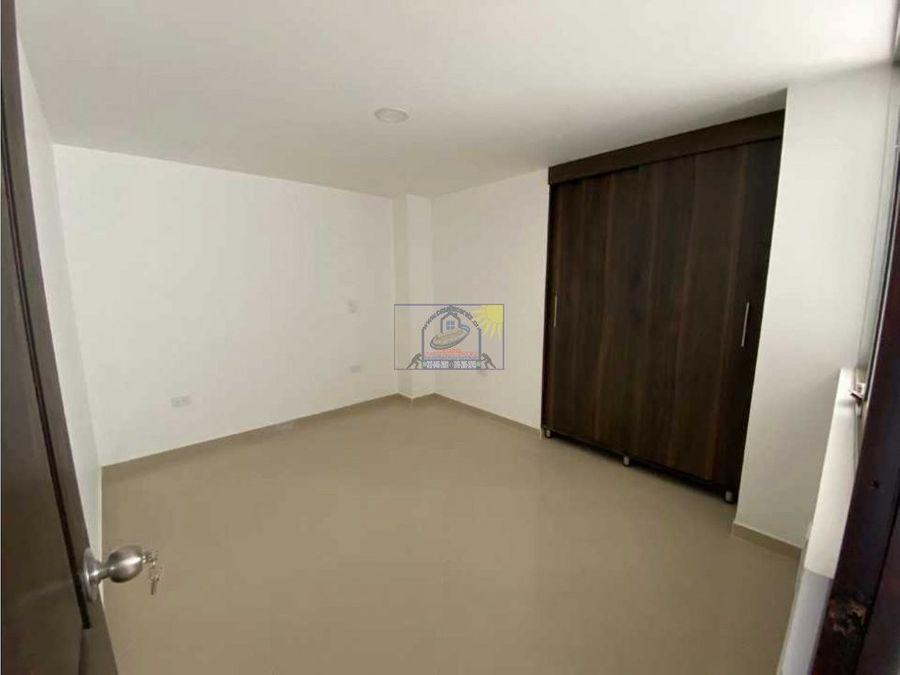 apartamento en marinilla tercer piso para estrenar barrio bellavista