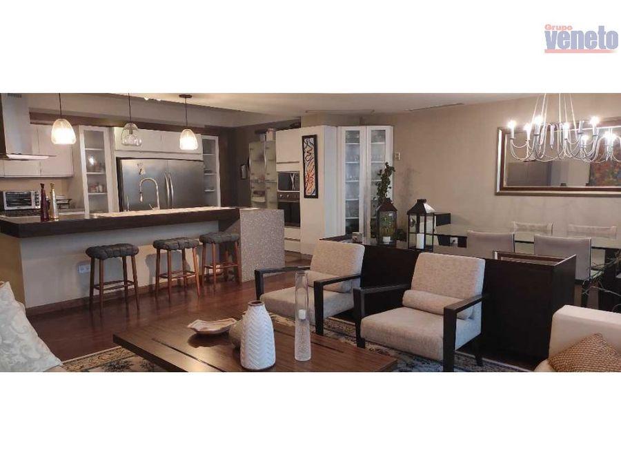 apartamento en monte real 2 amoblado y equipado con planta electrica