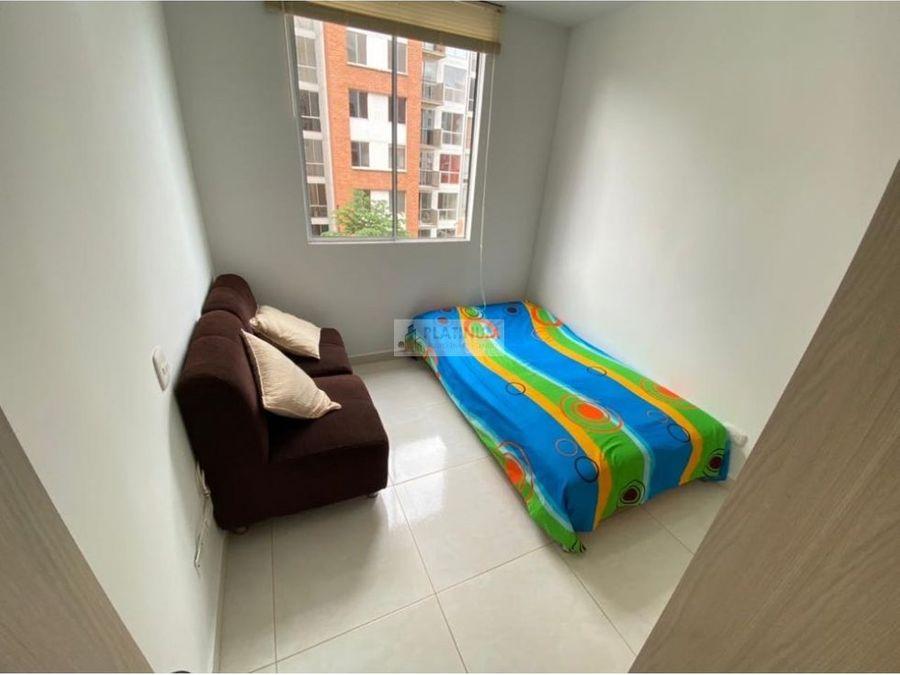 apartamento en alquiler amoblado en ciudad melendez