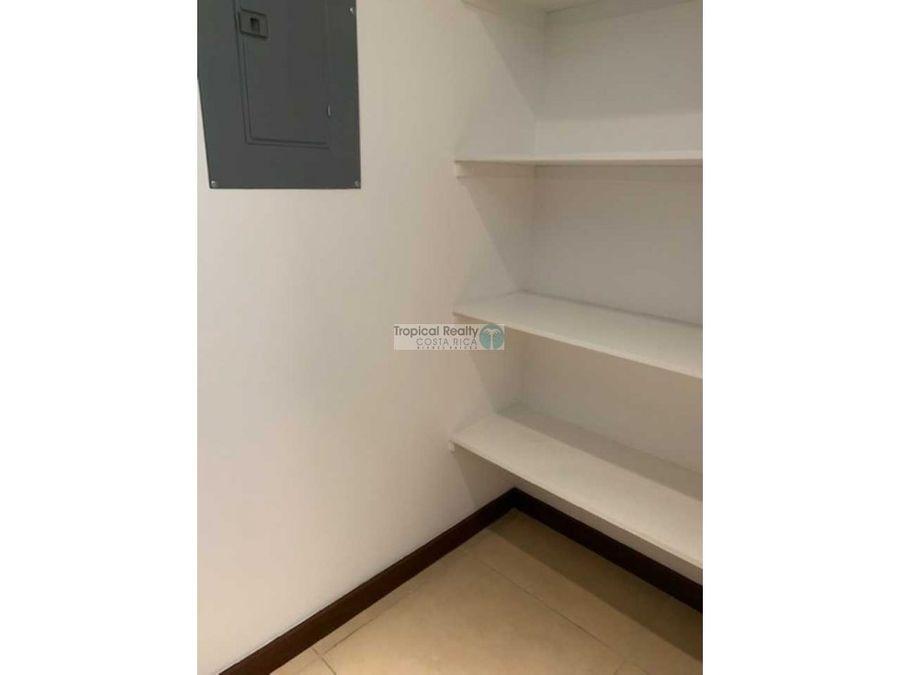 apartamento amueblado para alquiler en distrito 4 escazu