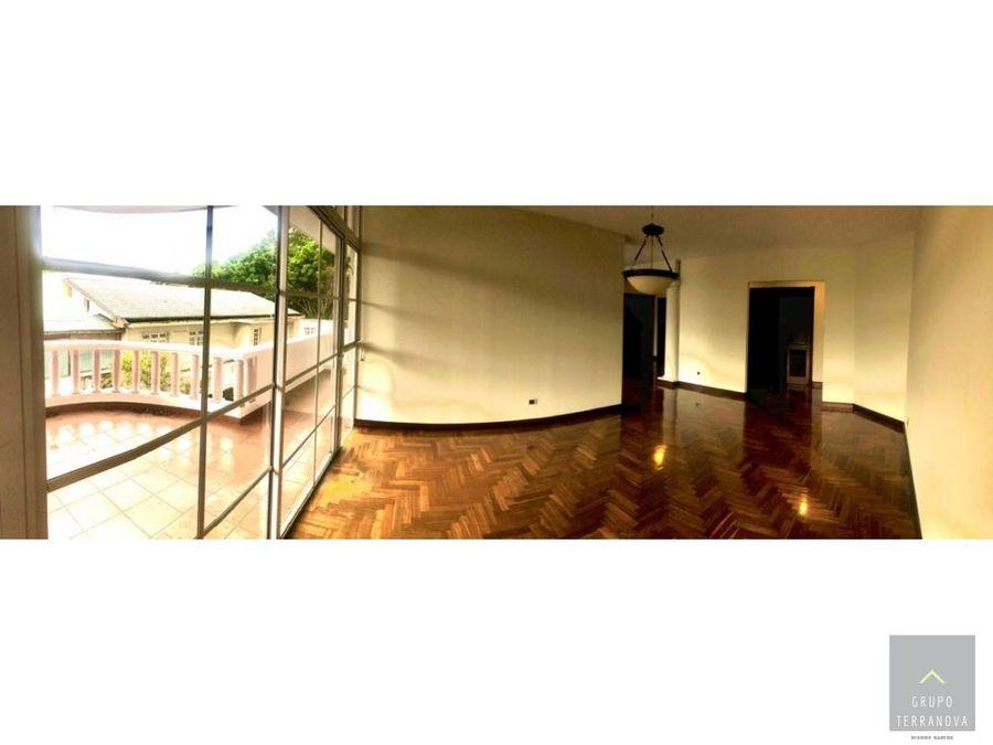 apartamento en alquiler edificio botanica zona 14