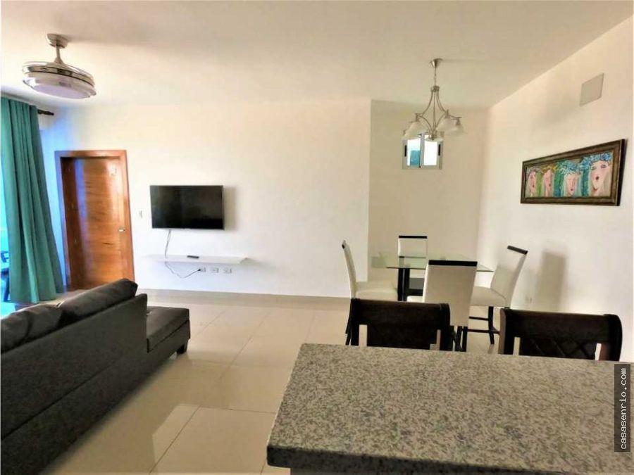 apartamento en alquiler en puerto plata de 3 habitaciones