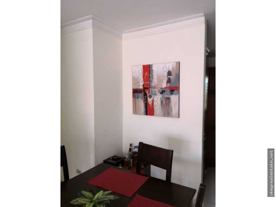 apartamento en alquiler en residencial mirador norte