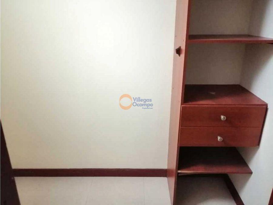 apartamento en alquiler en versalles manizales