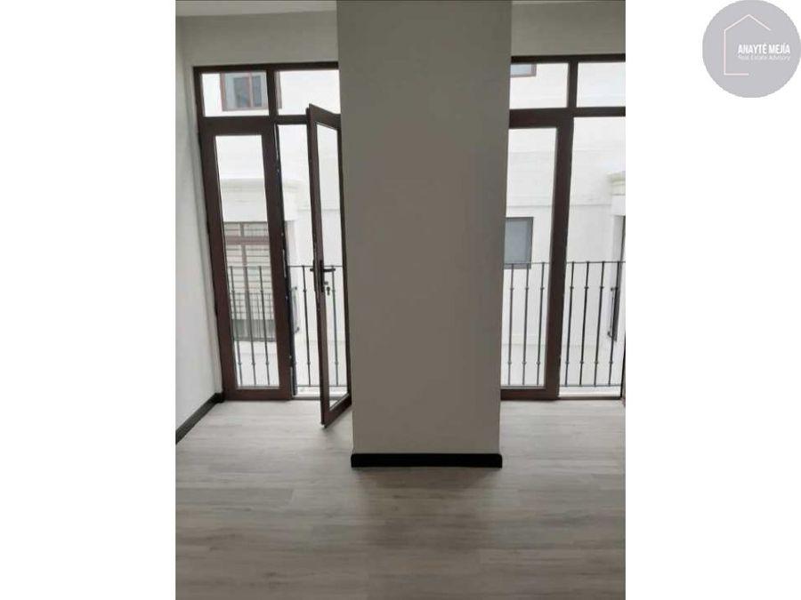 apartamento en alquiler lirios de cayala zona 16