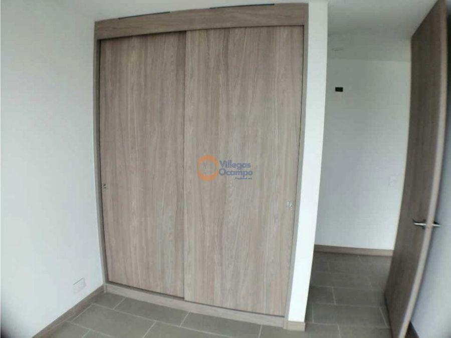 apartamento en alquiler para estrenar en bella suiza manizales