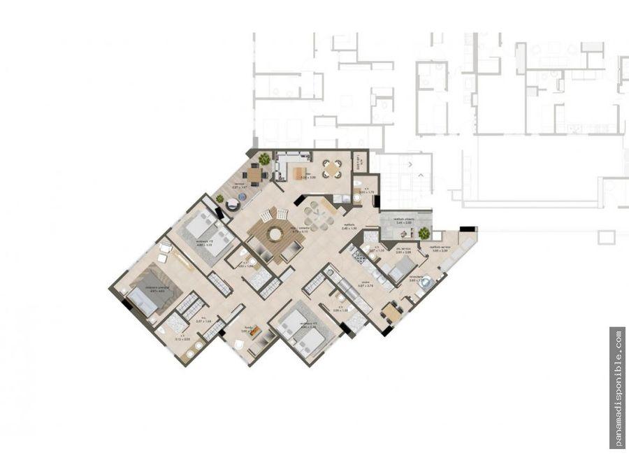 apartamento en arrendar panama rah pa 20 11371