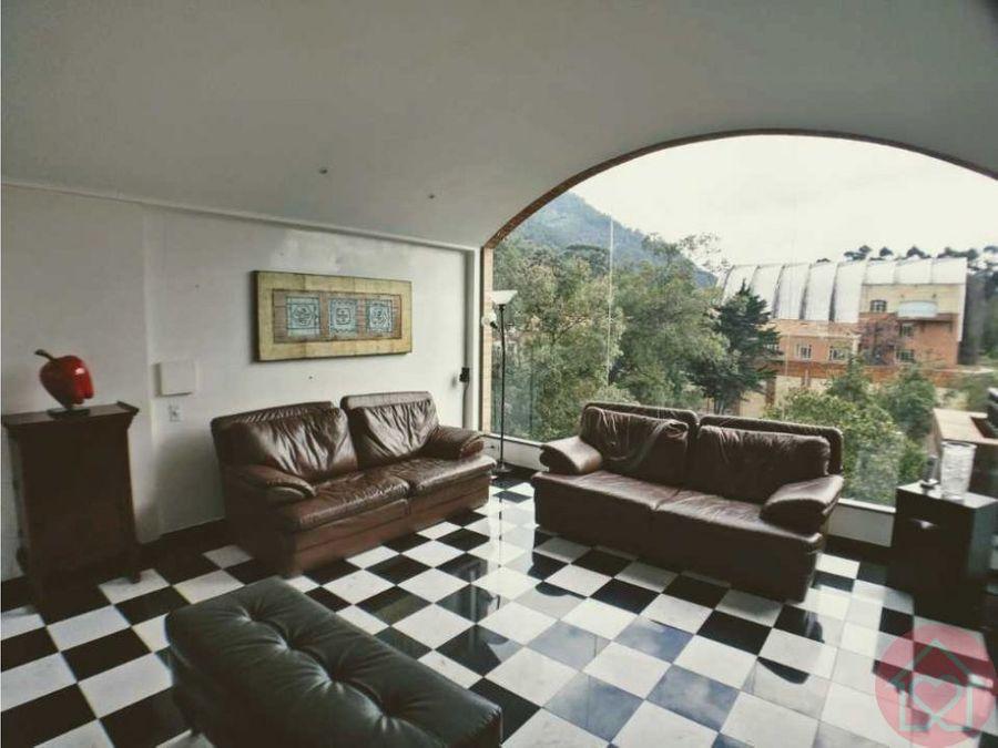 apartamento en arriendo en rosales terraza
