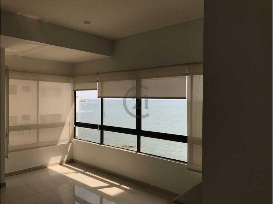 apartamento en boca grande vista al mar
