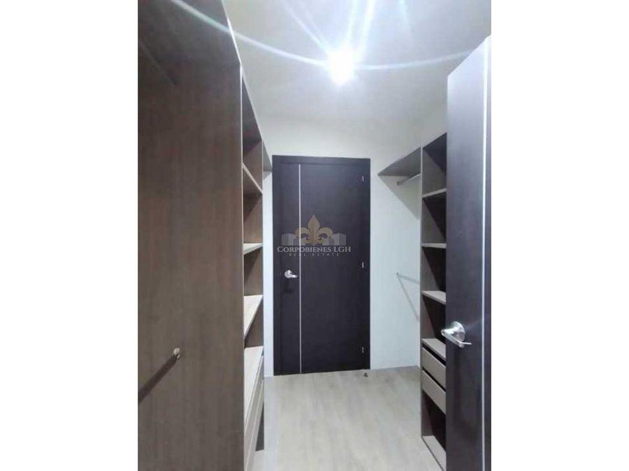 apartamento en exclusivo condominio en santa ana