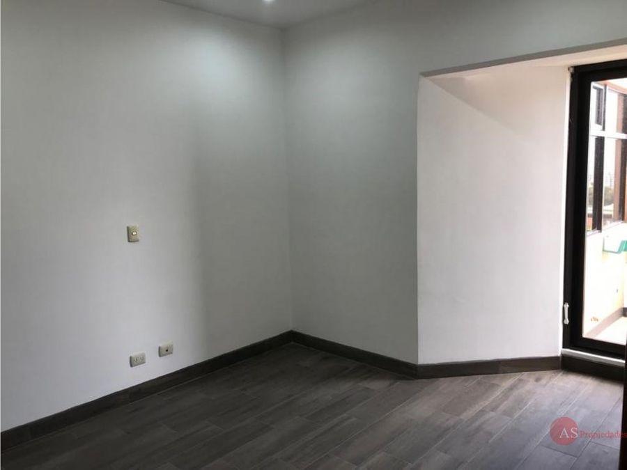 apartamento en la sabana mata redonda