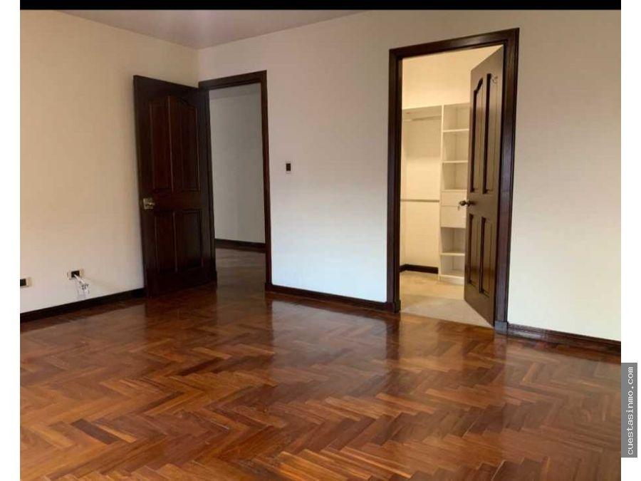 apartamento en renta casa alta zona 14 1