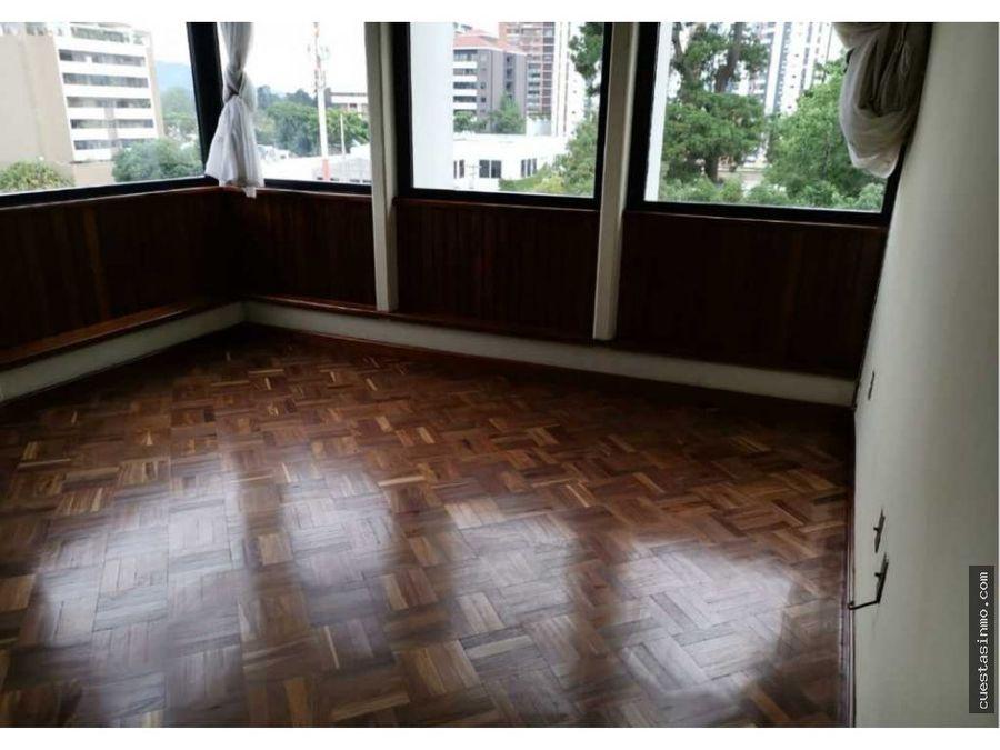 apartamento en renta cogefar zona 14 1