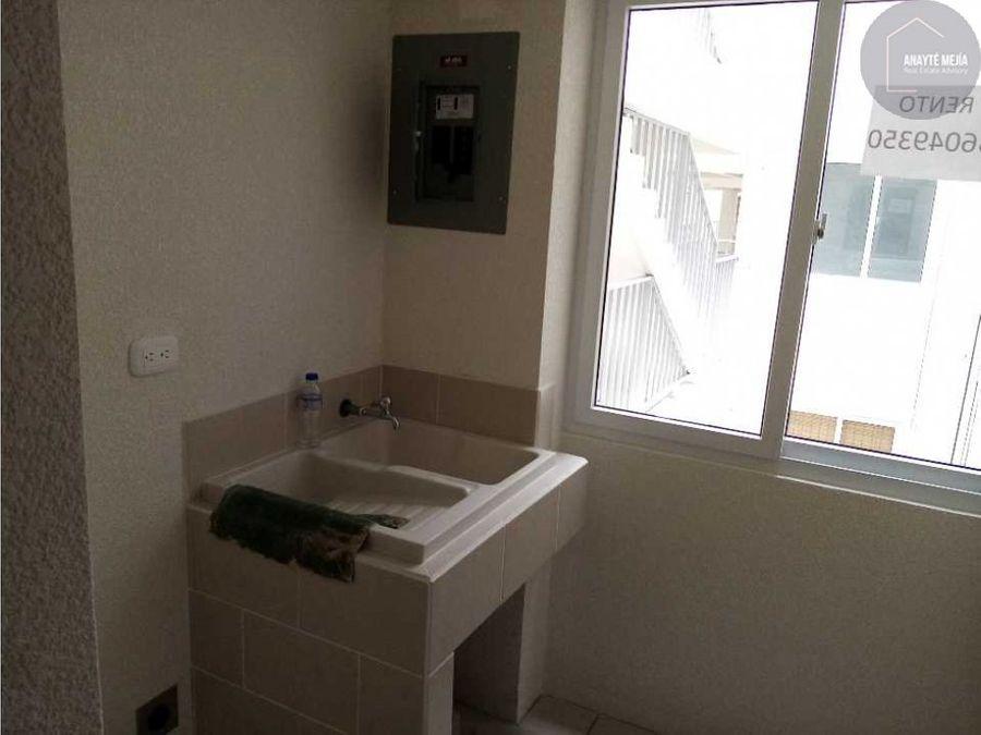 apartamento en renta condominio entre valles villa nueva el frutal