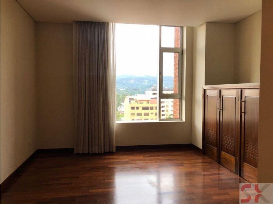 apartamento en renta edificio avenida 3