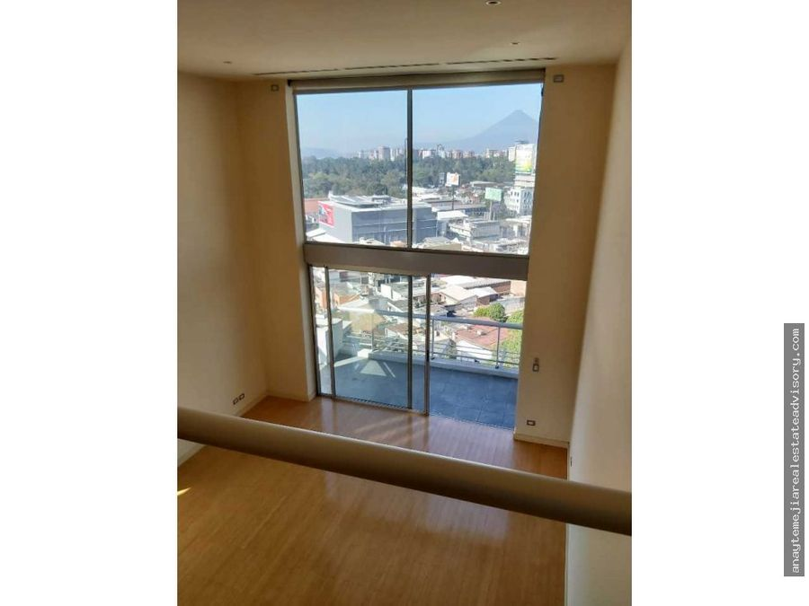 apartamento en renta en atrium zona 10