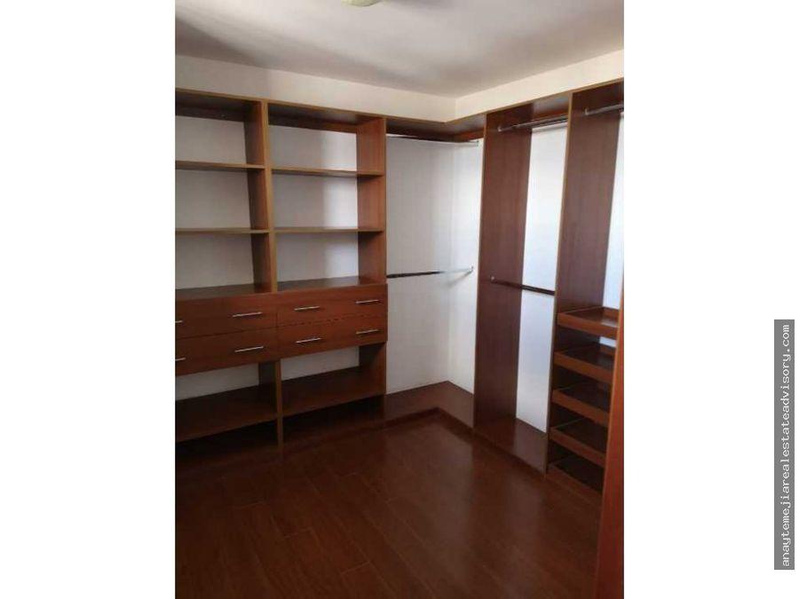 apartamento amueblado en renta en z15 vhii